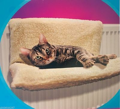 Cat Dog Puppy Pet Radiator Bed Warm Fleece Beds Basket Cradle Hammock Animal