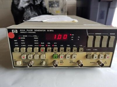 Hewlett Packard 8122A 50MHz Programmable Pulse Generator