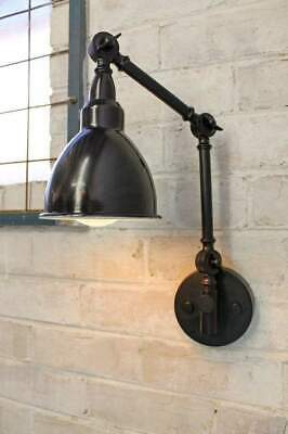 Brasserie Two Arm Swing Wall Lamp