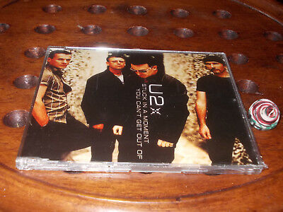 U2 Stuck In A Moment You Can't Get Out Of  Cd ..... New