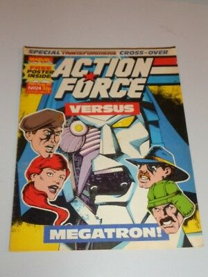 Action Force #24 15Th August 1987 British Weekly Comic^