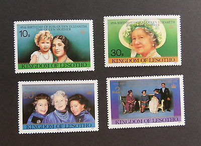 Lesotho 1985 Queen Mother's 85th Birthday MNH UM Unmounted mint never hinged