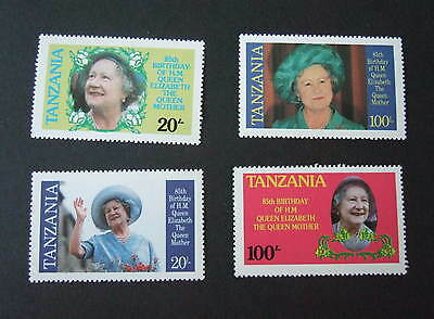Tanzania 1985 Queen Mother's 85th Birthday UM MNH unmounted mint never hinged