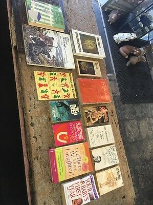 Lot of 14 Antique Collectible Hard To Find Books Vintage Lot# 9807