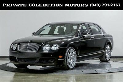 2008 Bentley Continental Flying Spur Flying Spur Sedan 4-Door 2008 Bentley Continental Flying Spur Clean Carfax Low Miles Well Kept