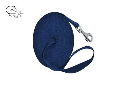 """Ekkia 'First"""" Horse Lunge Line 8 Metres Loop Handle Horse Pony Training Lunging"""