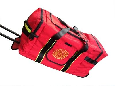 Firefighter Gear Bag - With Wheels And Extendable Handle/ reduced