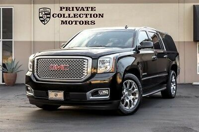 2015 GMC Yukon Denali Sport Utility 4-Door 2015 GMC Yukon Denali 1 Owner Well Kept Low Miles Loaded