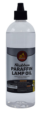 Paraffin Lamp Oil 32 OZ. (Smokeless Odorless Liquid Paraffin)