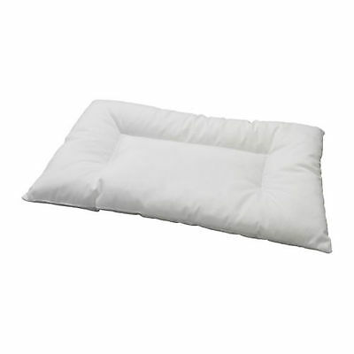 IKEA LEN White Machine-Washable Pillow For Cot - For Babies 12 Months+ (35x55cm)