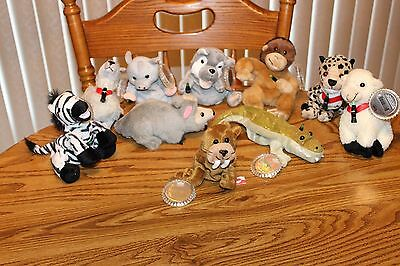 Coca Cola International Collection of 10 Beanie Babies
