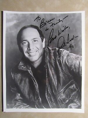 8x10 photo hand signed & inscribed by entertainer PAUL ANKA - VINTAGE 1990