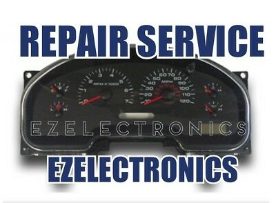 2004 TO 2008 Ford F150 Instrument Cluster Repair Service