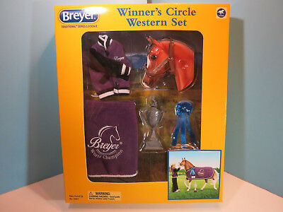 BREYER TRADITIONAL-Winners Circle Western Accessory  Set-New In Box
