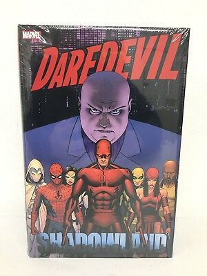 Daredevil Shadowland Omnibus Marvel Comics HC Hard Cover New Sealed $125