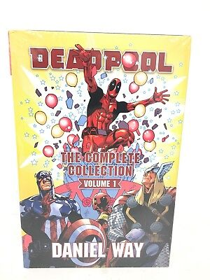 Deadpool by Daniel Way Complete Collection Volume 1 Omnibus Marvel HC New $100