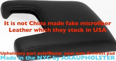 Armrest Center Console Lid Cover Leather Synthetic For Acura TL 09-14 Black