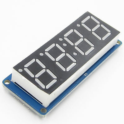 LED 4 Bit digit tube Display D4056A Module with Time Clock for Arduino BBC