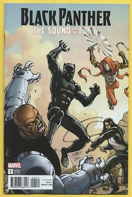 Black Panther Sound and the Fury #1  NM  Lim  Variant