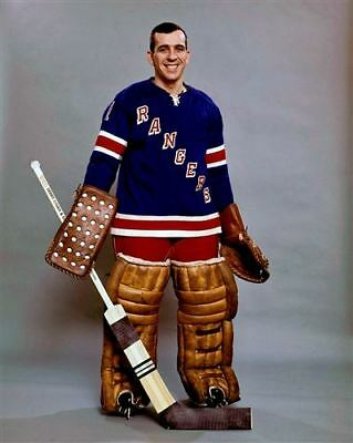 Ed Giacomin New York Rangers 8x10 Photo