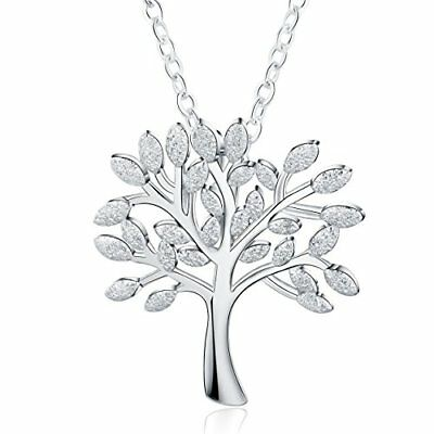"""❤ Valentine Mother's Day Meidiya """"The Tree Of Life"""" 925 Sterling Silver Pendant"""