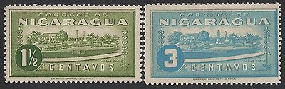 Nicaragua stamps. 1939 Tourist Attractions. MLH