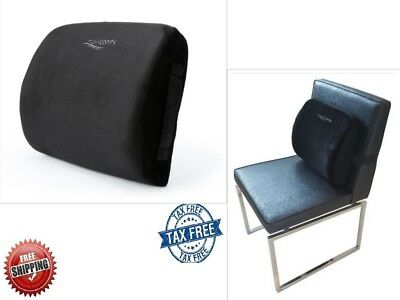 Lower Back Support Pillow Lumbar Memory Foam Cushion Chair Pain Relief Car Seat