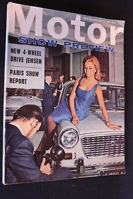Magazine Motor Show Preview #october 16 1965