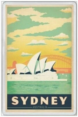 Sydney - Jumbo Fridge Magnet - Harbour New South Wales Australia Ashes Cricket 5