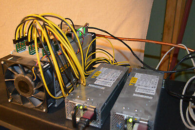 S7 antminer with 110v/AC Power Supplies, (2 each), bitcoin, 5 units, ASIC