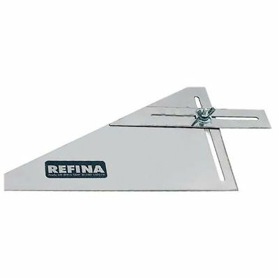 Refina 9'' Plasters Adjustable Square & Angle Window Reveal Gauge Tool 640006