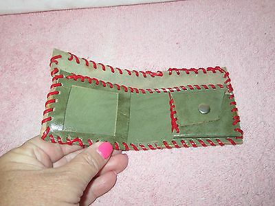 Vintage Boy Scout Cub Scouts Billfold/Wallet Craft Project