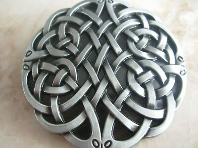 Celtic Knot Belt Buckle Tribal Round Gothic Fashion Gift Leather Belts Buckles