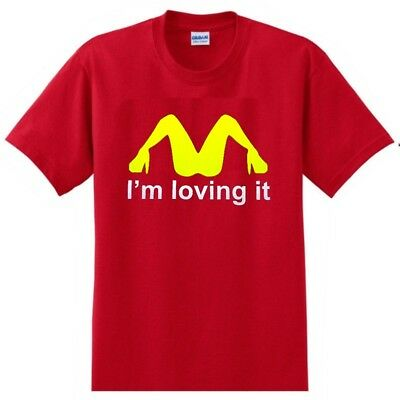 I'm Loving It Tee New Red Funny T'shirt