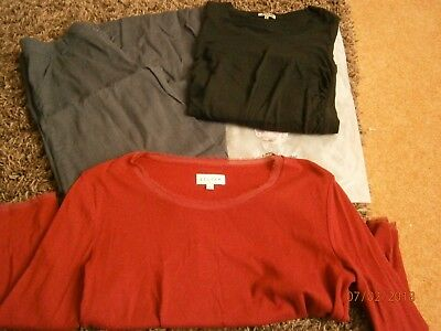 Jigsaw ladies clothes bundle size 12 trousers & L tops see Photo's (B11)