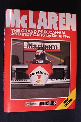 Osprey Book McLaren The Grand Prix, Can-Am and Indy Cars Doug Nye (English)