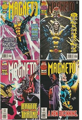 Magneto Issues 1 2 3 4 1996 Vol. 1 VF/NM Marvel Comics