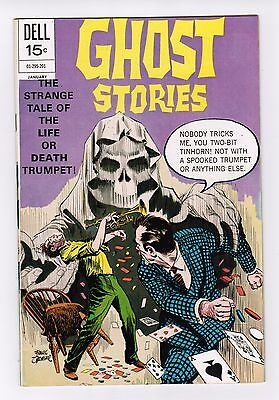 GHOST STORIES  COLOR  DELL COMICS   # 31   1972  VERY FINE condition