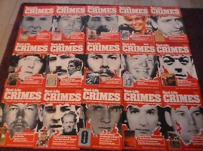 Lot/ Bundle Of Real-Life Crimes Magazines*mixed Issues*true Crime*lot #1