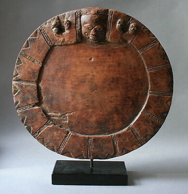 Fine Antique Divination Board From The  Yoruba Tribe Of Nigeria