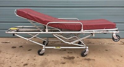 Ferno Medical Guerney Stretcher Cot w/ Mattress Escape Room Movie Stage Prop