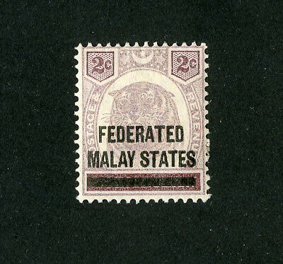 Malaya Stamps # 2 XF Used Scott Value $35.00