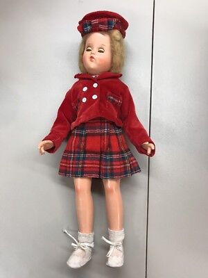 """Large 21"""" 1940's Arranbee R&B """"DEBUTEEN"""" Composition Doll Beauty"""