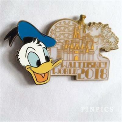 Wdw- 2018 Dated Collection- Donald Duck Disney Pin 126721