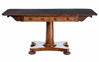 19Th Century Regency Rosewood Sofa Table