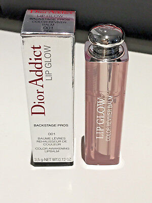 Dior Addict Lip Glow Color Awakening Reviver Lip Balm 001 Pink Bnib Genuine 3.5G