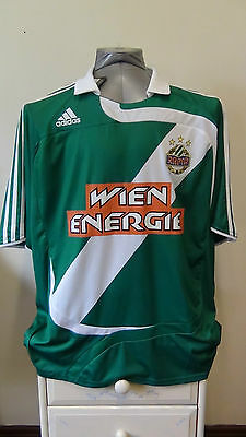 BNWT Rapid Vienna Wien Home Football Shirt Jersey 2007-2008 XL