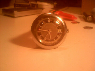 Vintage Caravelle 17 Jewel Swiss Winding Men,s Watch With Date