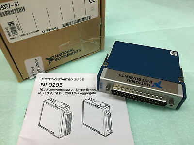 NEW OPEN BOX National Instruments NI 9205 32ch 16-Bit Anolog Input Module cRIO