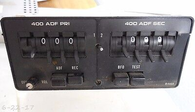 Cessna ARC 400 ADF Receiver R-446A P/N 43090-1028 With Tray & Connectors